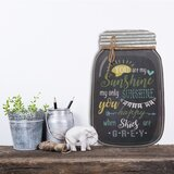 Mason Jar Wall Hanging Wayfair