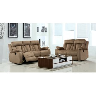 Find for Everglade Reclining 2 Piece Living Room Set (Set of 2) by Red Barrel Studio Reviews (2019) & Buyer's Guide