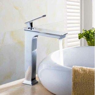 Royal Purple Bath Kitchen Ceramic Square Vessel Bathroom Sink with Faucet