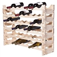 Symple Stuff 48 Bottle Floor Wine Bottle Rack