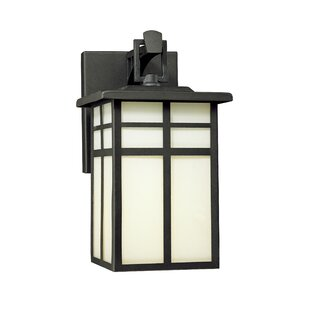 Comparison Bonfield1-Light Outdoor Wall Lantern By World Menagerie
