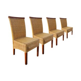 Deals Price Barnes Rattan Dining Chair (Set Of 4)