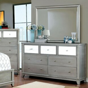 Everly Quinn Aleena Textured 7 Drawer Dresser