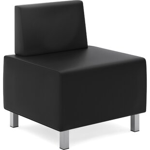 Modular Leather Slipper Chair by Basyx  by HON