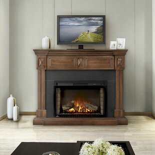 Braxton TV Stand for TVs up to 50 with Electric Fireplace