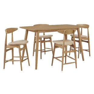 Buffum 5 Piece Pub Table Set b..