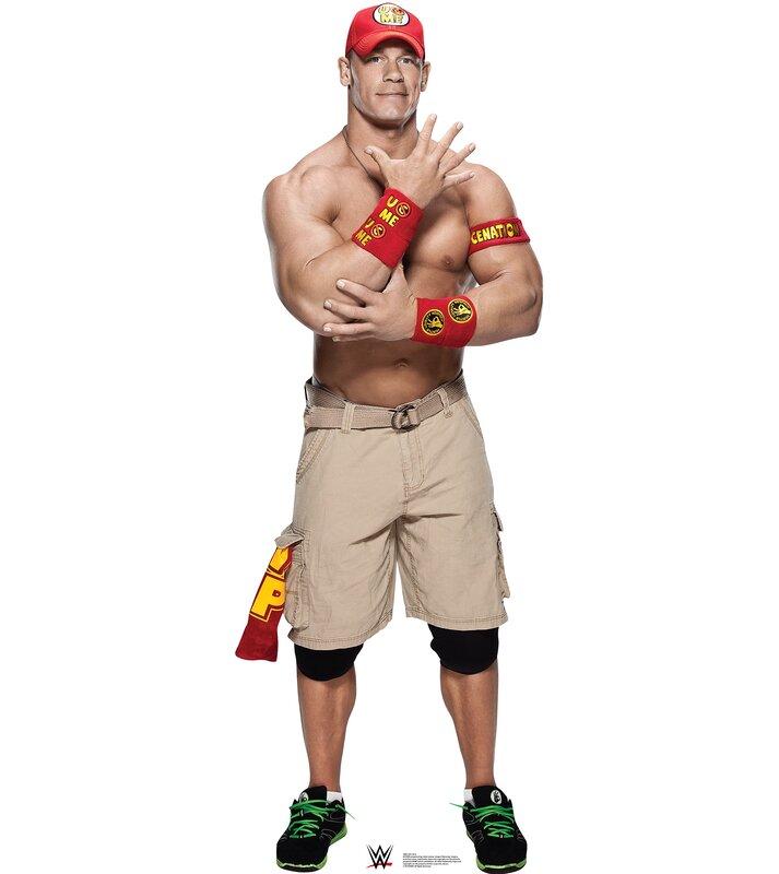 Advanced Graphics WWE John Cena Cardboard Standup | Wayfair