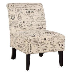 Heliotrope Slipper Chair