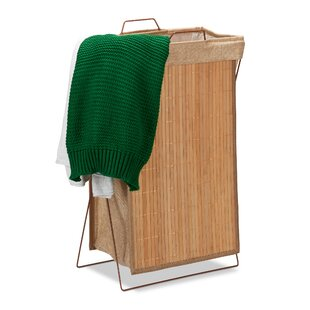 Bamboo Laundry Bin By Bay Isle Home