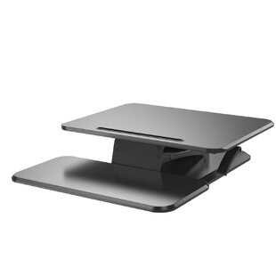 Symple Stuff Keltner Sit to Stand Up Riser Workstation Standing Desk Converter