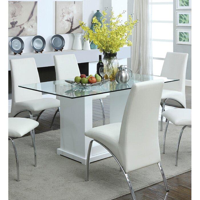 Orren ellis coley dining table reviews wayfair for Mobilia kitchen table