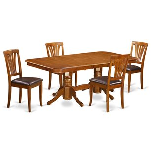 Pillsbury 5 Piece Extendable Dining Set August Grove