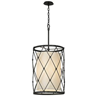 Troy Lighting Palisade 4-Light Cylinder Pendant