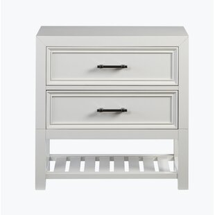 Elosie 2 Drawer Nightstand by Beachcrest Home
