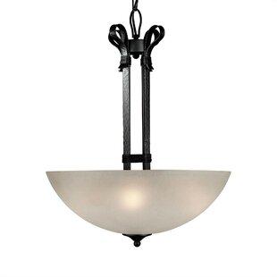 Winston Porter Wagenen 4-Light Bowl Pendant
