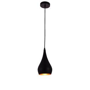 Modern pendant lighting allmodern 1 light teardrop pendant aloadofball Images