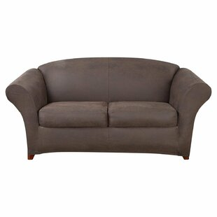 Ultimate Stretch Box Cushion Sofa Slipcover by Sure Fit 2019 Online