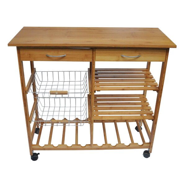Andover Mills Henriette Kitchen Cart Reviews Wayfair