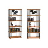 Arnett 79 H x 35.4 W Metal Etagere Bookcase by 17 Stories