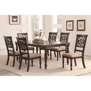 Darby Home Co Schoonmaker 7 Pieces Wood Dining Set