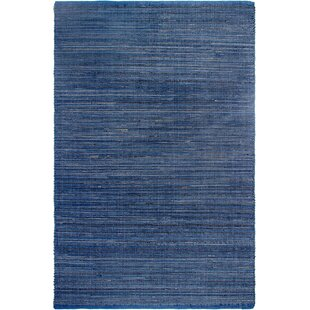 Estate Hand-Woven Blue Indoor/Outdoor Area Rug