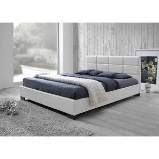 Cashman Upholstered Platform Bed by Wrought Studio
