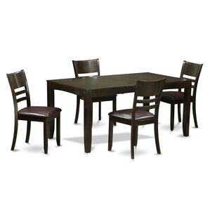 Lockmoor 5 Piece Dining Set by Red Bar..