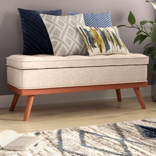 Brayden Studio Ronquillo Upholstered Storage Bench
