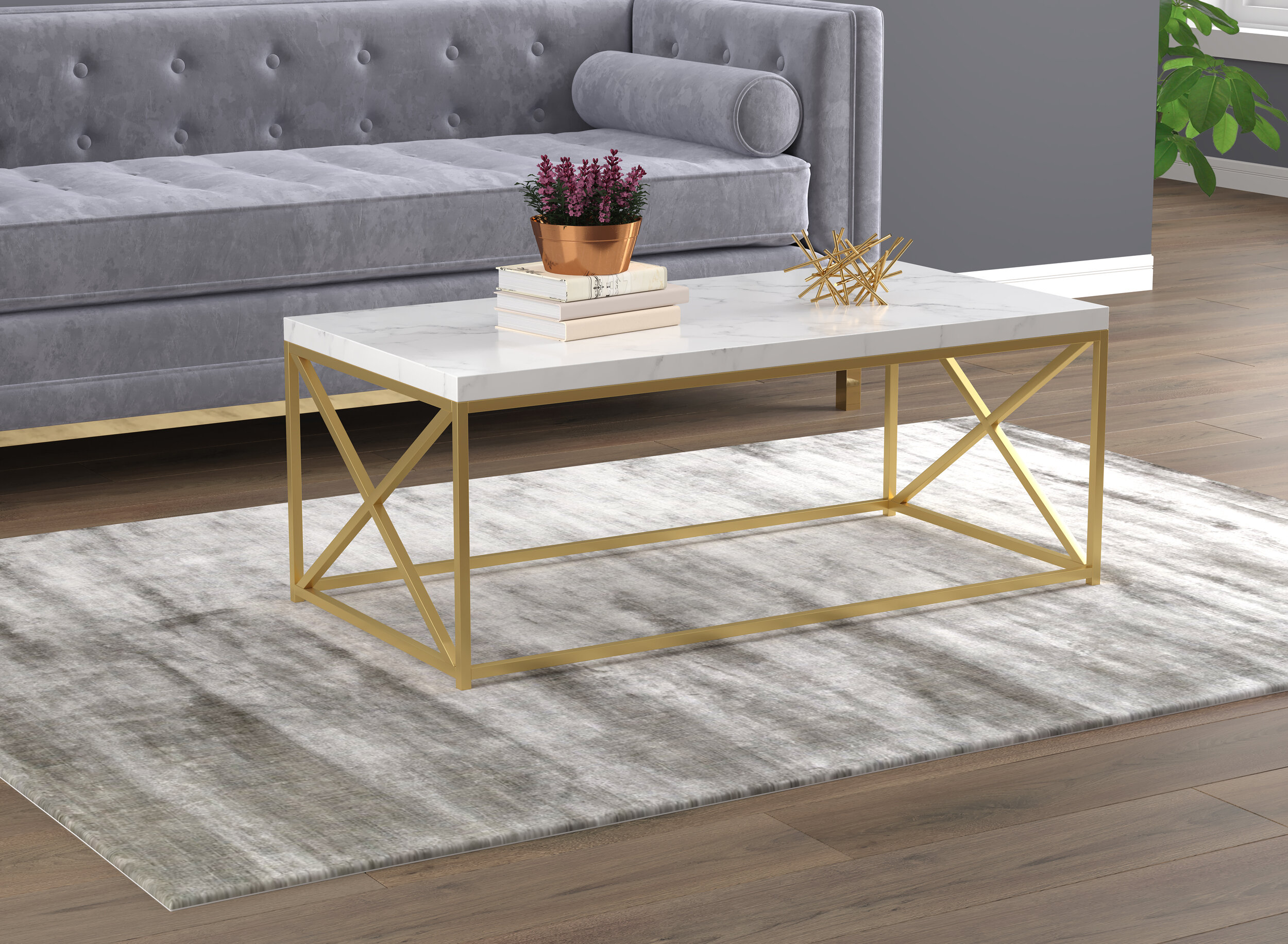 Gold Coffee Tables Free Shipping Over 35 Wayfair
