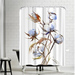 Suren Nersisyan Cotton Single Shower Curtain