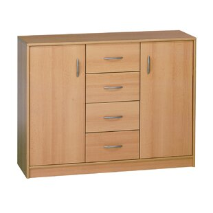 Sather 4 Drawer Combi Chest By Mercury Row