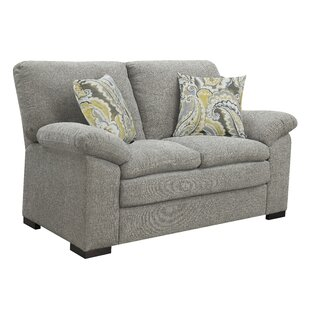 Kober Pebbled Standard Loveseat by Charlton Home