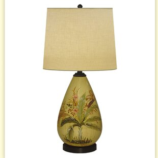 Full Hand Painted Porcelain 29 Table Lamp