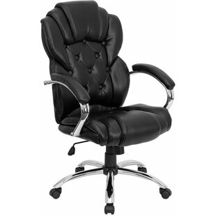 Symple Stuff Kropp High-Back Button Tufted Ergonomic Executive Chair