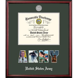 Army Discharge Petite Picture Frame By Patriot Frames