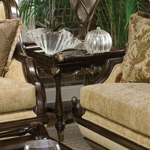Rosetta End Table by Benet..