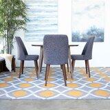Cyprian 4 - Piece Eucalyptus Solid Wood Dining Set by Corrigan Studio®