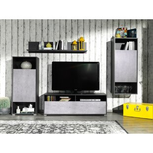 Rossi Wall Unit Entertainment Center for TVs up to 70