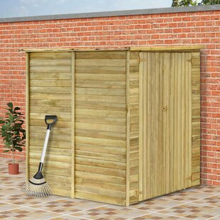 Garden House 5 Ft. W X 5 Ft. D Solid Wood Garden Shed By WFX Utility