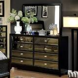 Willisville 8 Drawer Double Dresser with Mirror