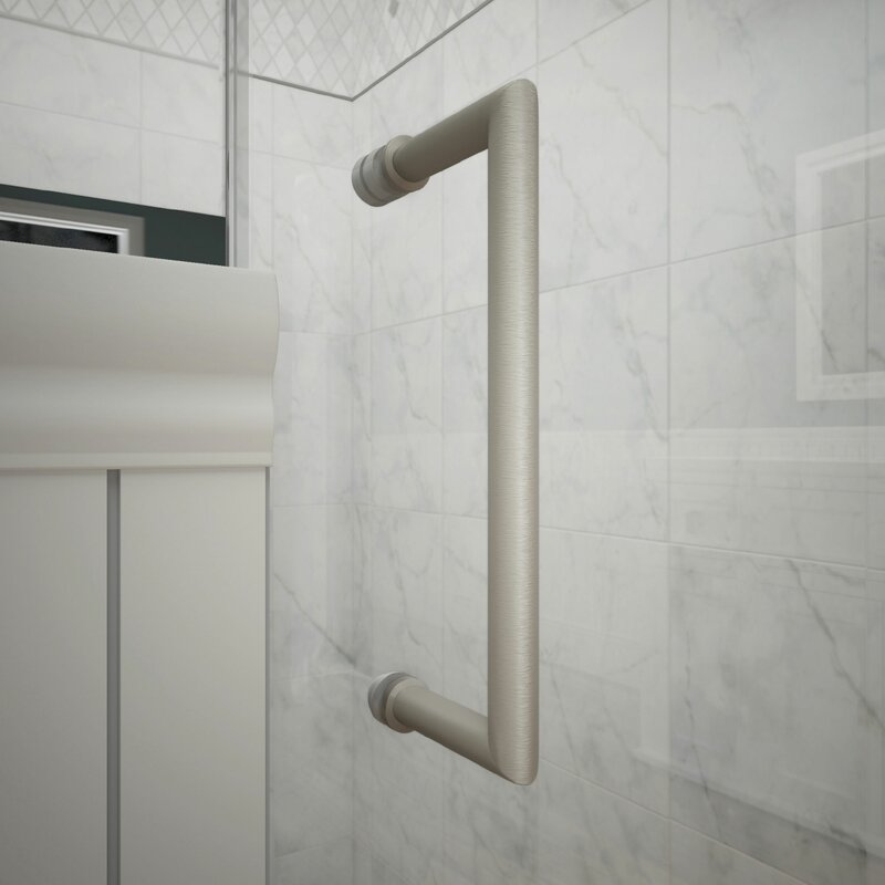 Dreamline Unidoor X 72 X 61 Hinged Frameless Shower Door With