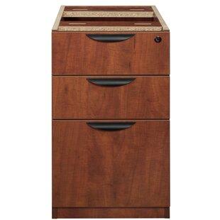 Latitude Run Linh Box File Pedestal 3-Drawer Vertical Filing Cabinet