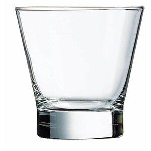 Pintado 10.5 Oz. Flared Double Old Fashion Glass (Set of 4)