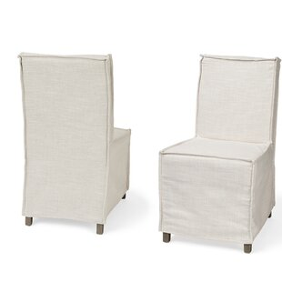Cluck Upholstered Dining Chair (Set of 2) Gracie Oaks