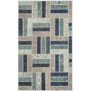 Mercado Gray/Blue Area Rug