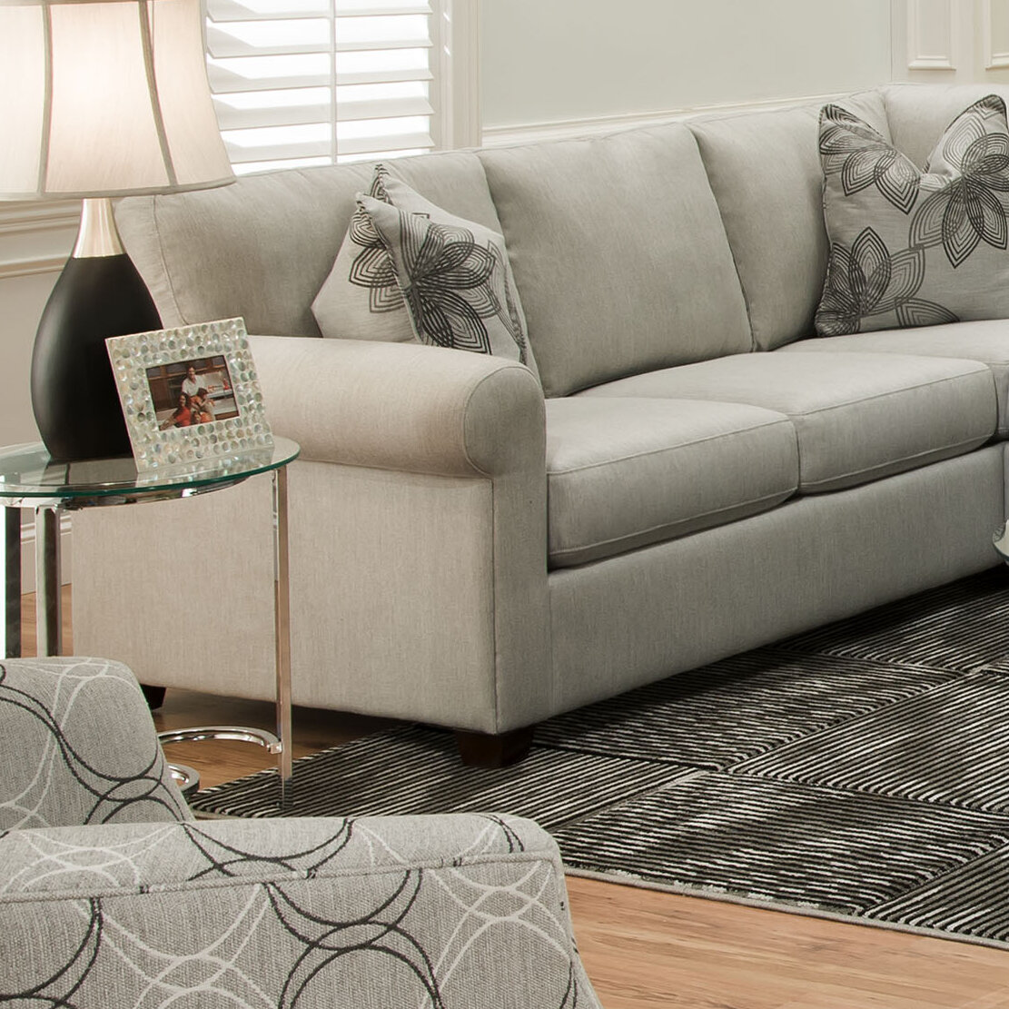 Bauhaus Ross Pique Gravel Sectional | Wayfair