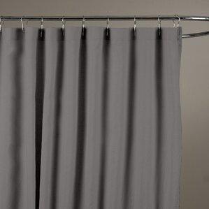grey linen shower curtain. Reva Belgian Linen Shower Curtain Gray  Silver Curtains You ll Love Wayfair