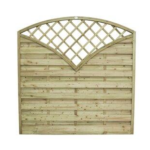 Afonso 6' x 6' (1.8m x 1.8m) Horizontal Weave Fence Panel (Set of 3) by Bel Étage
