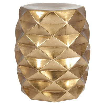 Adler Geometric Garden Stool by Trule Teen