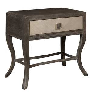 Seaton 1 Drawer Nightstand by Everly Quinn